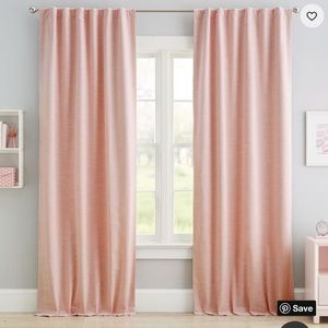 Pottery Barn kids/teen curtains. Set of 2